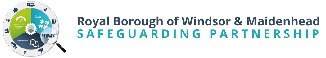 Royal Borough of Windsor and Maindenhead Safeguarding Partnership logo